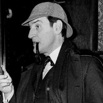 Britský herec Douglas Wilmer.