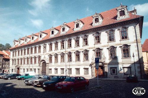 Budova senátu parlamentu čr valdštejnský palác v praze čtk