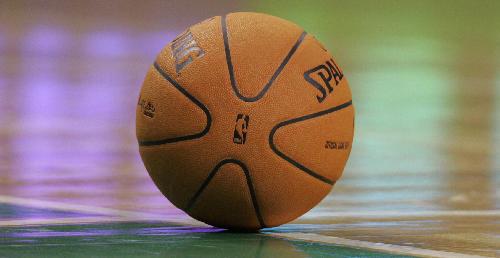 Ilustrační foto - Basketbalový míč. Ilustrační foto.