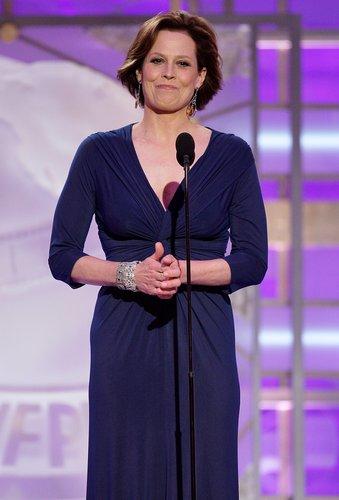 Herečka Sigourney Weaverová
