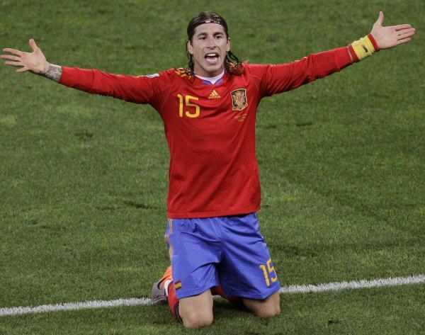 Španělský fotbalista Sergio Ramos.
