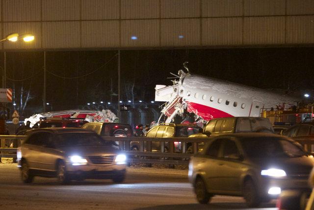 Video havárie letadla Tu-204
