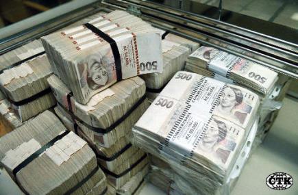 peníze doprovod podání