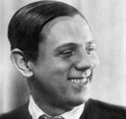 Český hudební skladatel Jaroslav Ježek.