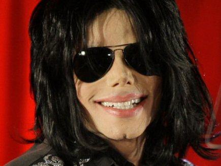 Americký zpěvák Michael Jackson.