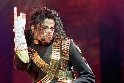 Ilustrační foto - Michael Jackson na turné Dangerous v Bangkoku v roce 1993.