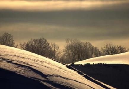 Ilustrační foto - Zima v Jirezských horách. Ilustrační foto.
