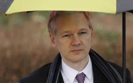 Spoluzakladatel serveru WikiLeaks Julian Assange.