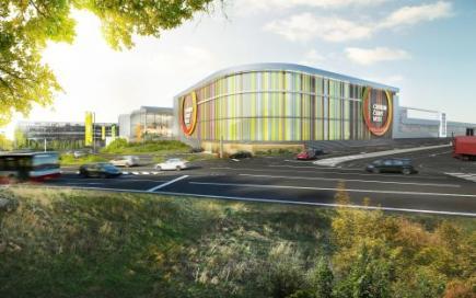 Rozšíření a dostavba stávajícího nákupního centra Černý Most (na vizualizaci od firmy Unibail-Rodamco) bude stát kolem 100 milionů eur, tedy asi 2,4 miliardy korun. Konečná částka ale bude ještě záviset na výsledku výběrového řízení na stavební firmy. Na tiskové konferenci to dnes řekl výkonný ředitel developerské společnosti Unibail-Rodamco pro střední Evropu Arnaud Burlin.