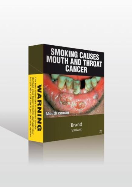 Ilustrační foto - Australská vláda chce ještě přitvrdit svůj protikuřácký zákon, který patří k nejpřísnějším na světě: krabičky cigaret budou mít všechny stejnou chmurnou olivově tmavozelenou barvu a navíc budou popsány varováními před následky kouření.