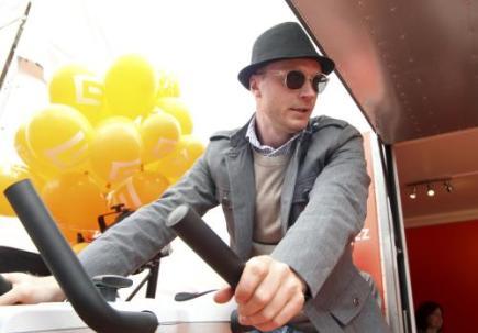 Ilustrační foto - Herec Jan Budař se 2. července zapojil do charitativního projektu . rozjeďte to pro dobrou věc! na 46. ročníku Mezinárodního filmového festivalu Karlovy Vary. Dosažený výkon na rotopedu se převádí na peníze, které Nadace ČEZ poskytne neziskovým organizacím.