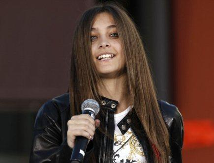 Paris Jacksonová, dcera zpěváka Michaela Jacksona.