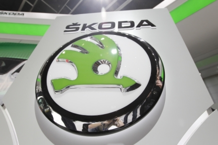 koda Auto, logo - ilustran foto.