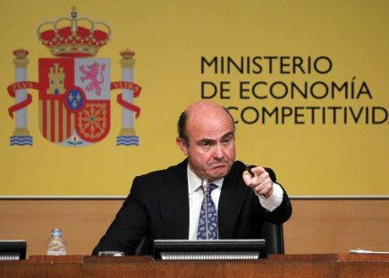 panlsk ministr hospodstv Luis de Guindos.