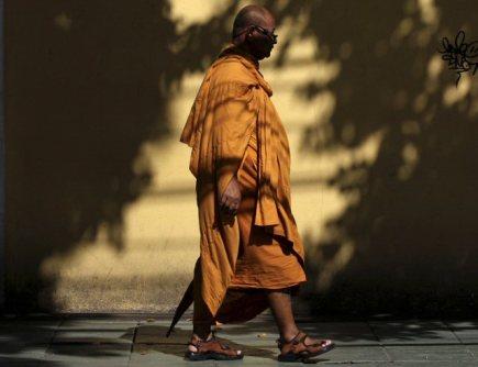 Ilustrační foto - Tibetský mnich - ilustrační foto.
