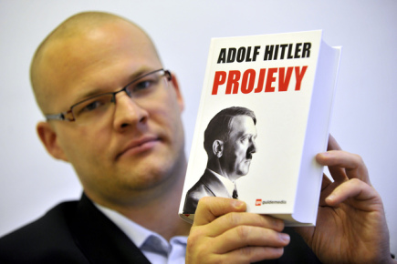 Anthology of Hitler´s speeches appears in Czech bookshops