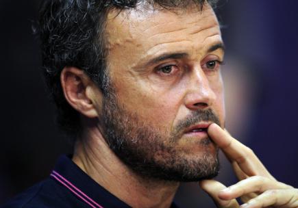 Fotbalový trenér Luis Enrique.