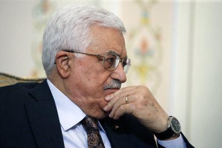 Palestinský prezident Mahmúd Abbás.
