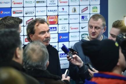 Fotbalisté Jablonce zahájili zimní přípravu 4. ledna v Jablonci nad Nisou. Sportovní ředitel klubu Ivan Horník hovoří s novináři.