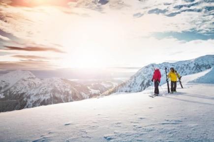 Lyžování v Kitzbühelských Alpách (c) Mirja Geh