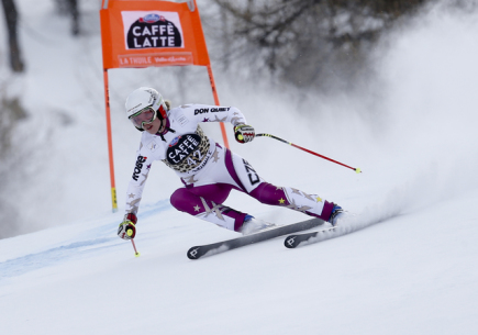Česká lyžařka Klára Křížová.