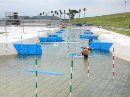 Olympijský kanál pro vodní slalom v Riu de Janeiro.