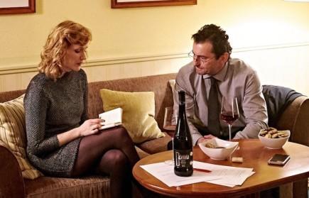 Romantická komedie Pohádky pro Emu v hlavních rolích s Aňou Geislerovou a Ondřejem Vetchým (na snímku). V titulní dětské roli se objeví Ema Švábenská.