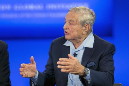 Americký investor George Soros.