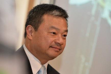 Americký astronaut čínského původu Leroy Chiao vystoupil 18. října v Praze na tiskové konferenci k uvedení jeho knihy Život jako výzva.