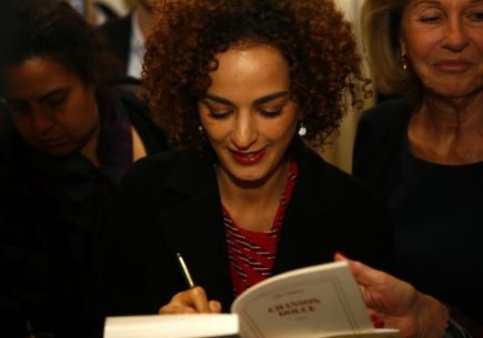 Francouzsko-marocká novinářka a spisovatelka Leila Slimaniová.