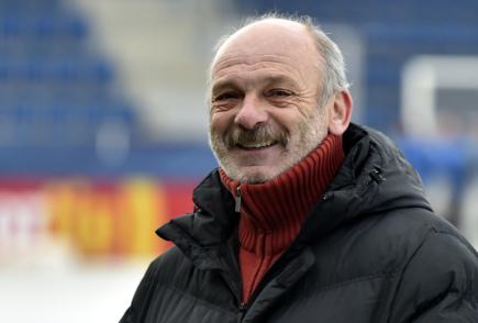 Sportovní ředitel fotbalistů 1. FC Slovácko Stanislav Levý.