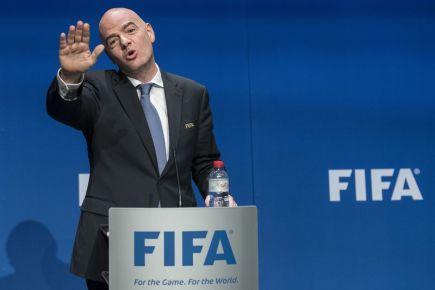 Prezident FIFA Gianni Infantino.
