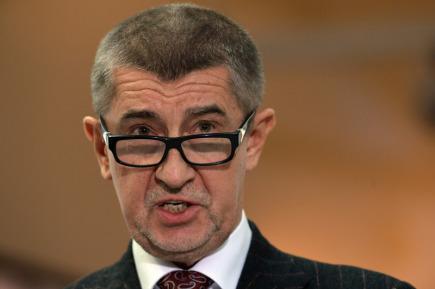 """Ministr financí Andrej Babiš vystoupil na tiskové konferenci po hlasování o """"Lex Babiš"""" na schůzi Poslanecké sněmovny, která pokračovala 11. ledna v Praze."""