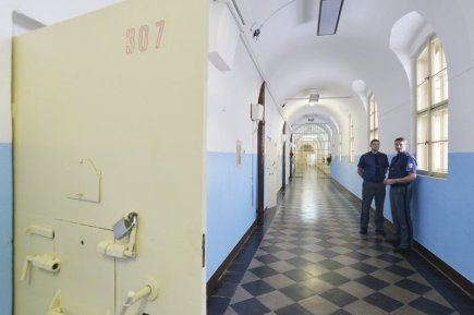 O 55 nových míst zvýšila kapacitu věznice v Plzni Borech (na snímku z 11. ledna). V současné době je ve věznici 1380 odsouzených nebo obviněných vězňů, to je nejvíce v celé ČR. Průměrná přeplněnost věznic v ČR je o osm procent, v Plzni je to dokonce o víc než 13 procent.
