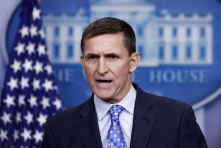 Bývalý bezpečnostní poradce Bílého domu Michael Flynn na snímku z 1. února 2017.