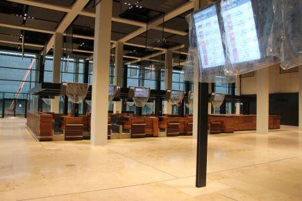 Uzavřené berlínské letiště Willyho Brandta na snímku z 15. prosince 2016.