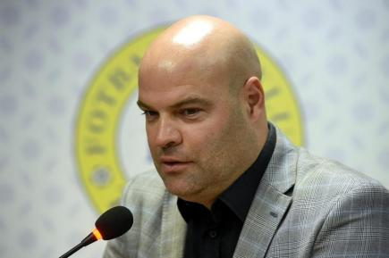 Sportovní ředitel teplických fotbalistů Jakub Dovalil vystoupil 15. února v Teplicích na tiskové konferenci klubu před začátkem jarní části ligy.