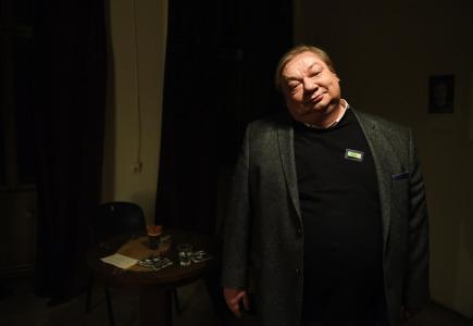 Ceny divadelní kritiky za rok 2016 se udílely 20. března v Praze. Na snímku je nominovaný herec Norbert Lichý.
