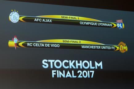 Los semifinálových dvojic fotbalové Evropské ligy 2016/17.