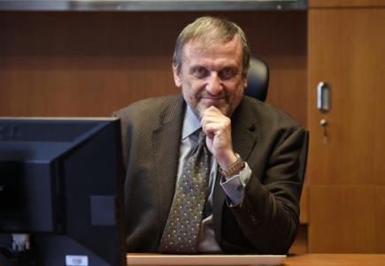 Českou tiskovou kancelář povede i dalších šest let Jiří Majstr ( na snímku ze 7. dubna 2017), který je generálním ředitelem od roku 2011. Do čela agentury ho vybrala 26. dubna Rada ČTK.