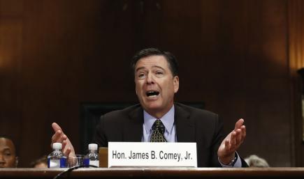 Bývalý šéf FBI James Comey.