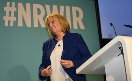 Hannelore Kraftová, šéfka německé SPD v Severním Porýní-Vestfálsku.