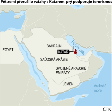 Ilustrační mapka regionu.