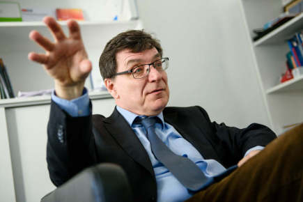 Frank Laczko, ředitel Celosvětového střediska pro analýzu dat spojených s migrací IOM v Berlíně.