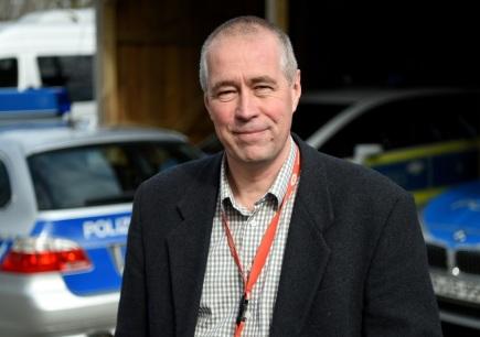 Jürgen Nissen, šéf týmu německých vyšetřovatelů, kteří se zabývají pašováním lidí.