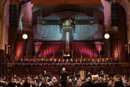 Třináctý ročník mezinárodního hudebního festivalu Prague Proms byl zahájen 21. června v Obecním domě v Praze.