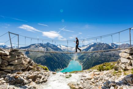 Přírodní park  Zillertalské Alpy (c) Zillertal Tourismus-Becknaphoto