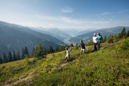 Na túře v Zillertalu (c) Zillertal Tourismus-Andre Schönherr