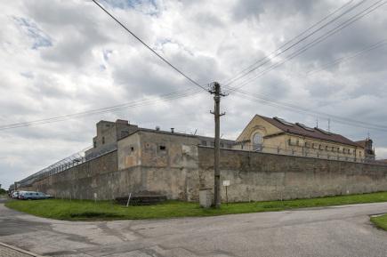 Věznice ve Valdicích u Jičína (na snímku z 12. července 2017).