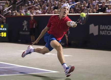 Kanadský tenista Denis Shapovalov.